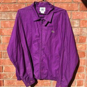 Vintage 80's IZOD x Lacoste Harrington jacket